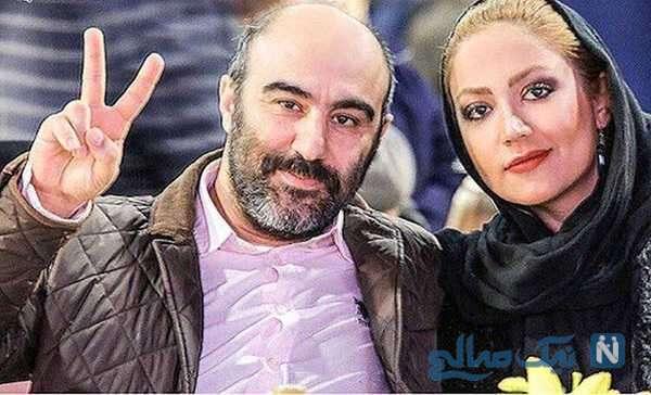 سلفی محسن تنابنده با همسرش