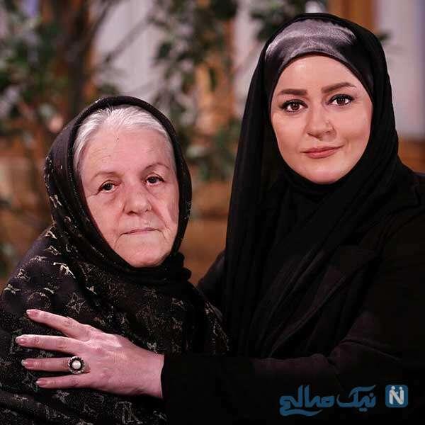 خانم بازیگر و مادرش