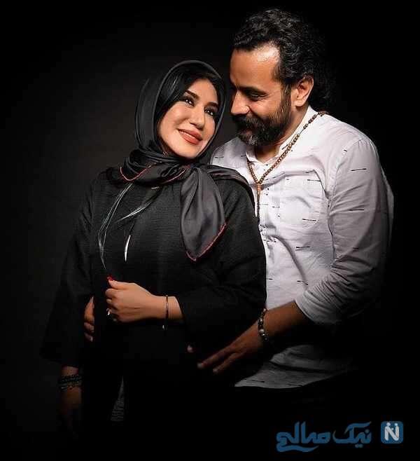 نسیم ادبی هنرپیشه معروف و همسرش