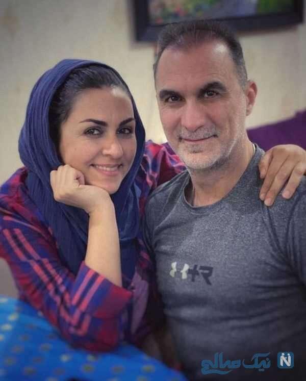 عکسهای جدید شیوا ابراهیمی و همسرش