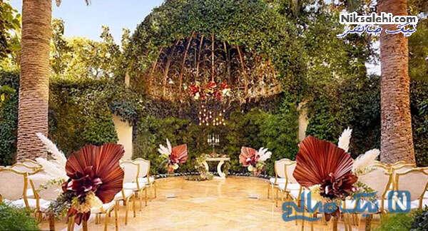 سالن عروسی در لاس وگاس