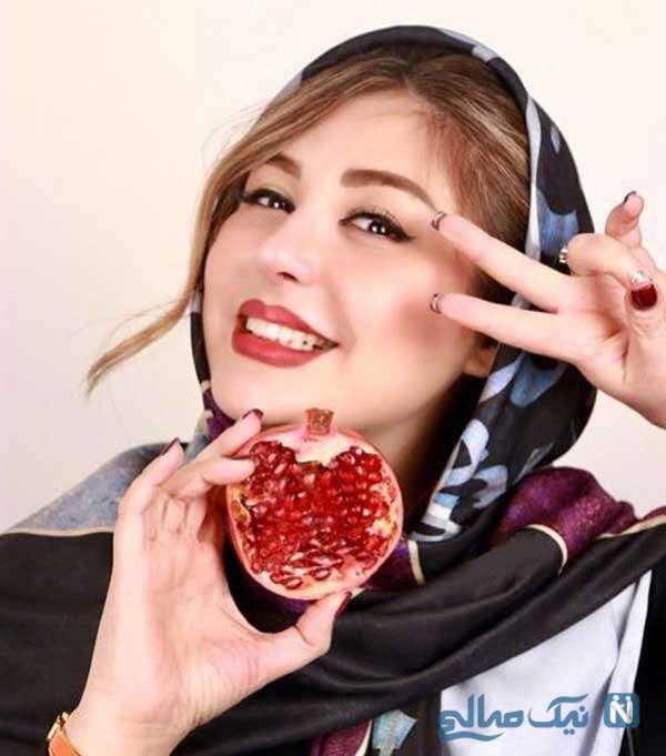 عکس یلدایی بازیگر زن