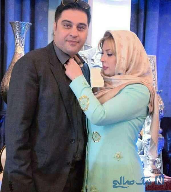 تیپ جدید نیوشا ضیغمی در کنار همسرش