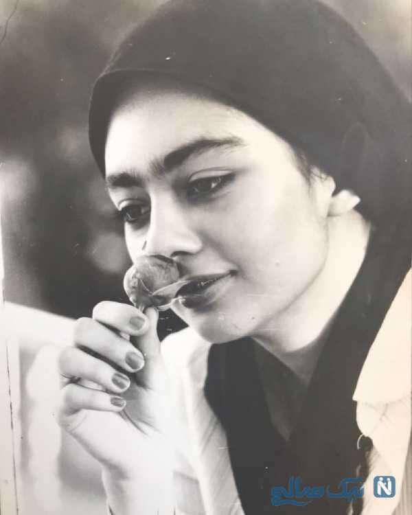 عکس قدیمی یکتا ناصر بازیگر