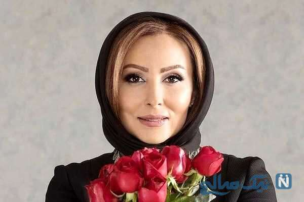 پرستو صالحی و مادرش سر سفره هفت سین و تبریک سال نو