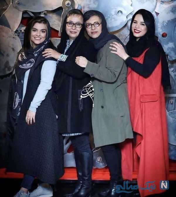 خانم های بازیگر و دخترانشان