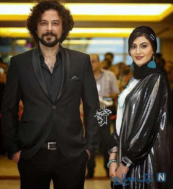 آقای بازیگر در کنار مریم مومن
