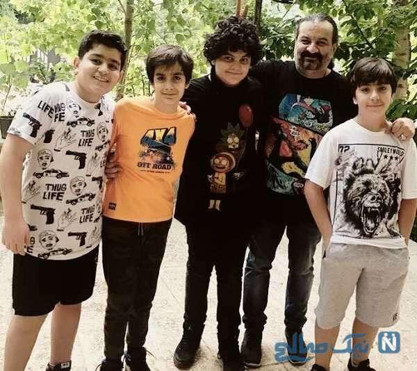 نویان پسر نویسنده ایرانی