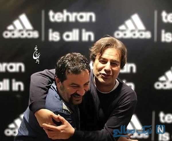 عکس مهراب قاسم خانی و برادرش