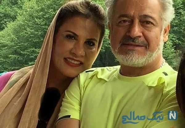 جالب ترین عکس مجید مشیری و همسرش