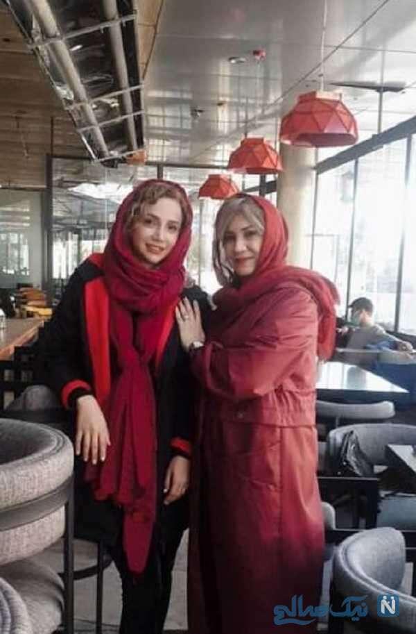 ست لباس شبنم قلی خانی و خواهرش