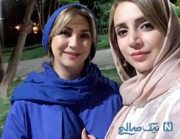 جالب ترین عکس شبنم قلی خانی و خواهرش