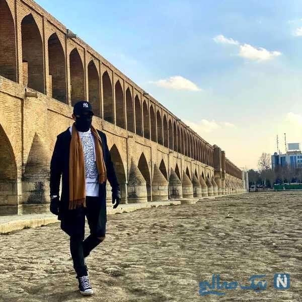 بهرام رادان در اصفهان