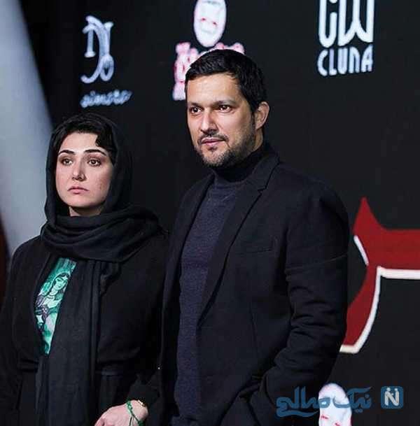 باران کوثری و حامد بهداد هنرپیشه
