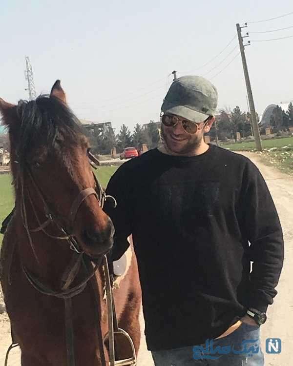 اسب زیبای روزبه حصاری
