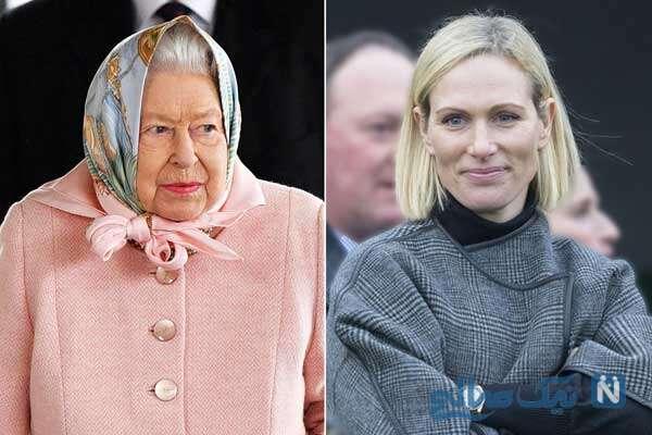 تولد نتیجه ملکه انگلیس و زایمان نوه اش در حمام خانه