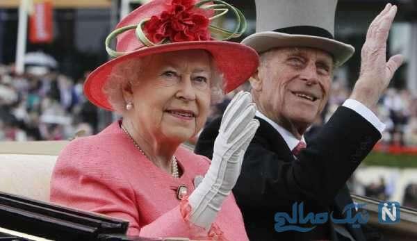 الیزابت دوم و شاهزاده فیلیپ