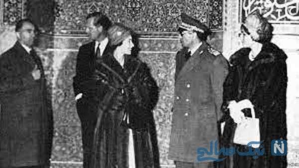 بازدید ملکه انگلیس اصفهان