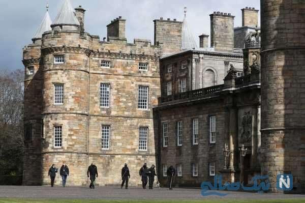 کشف یک بسته مشکوک در کاخ ملکه انگلیس