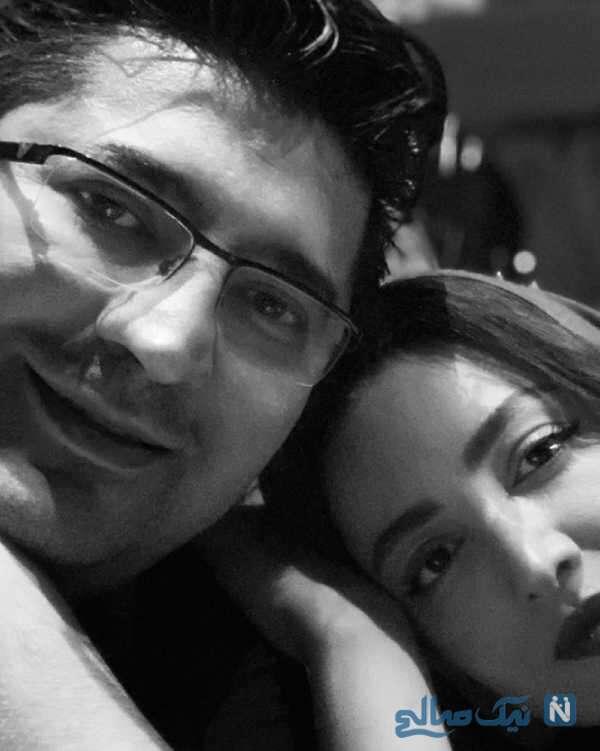 عکس عاشقانه شیلا خداداد و همسرش