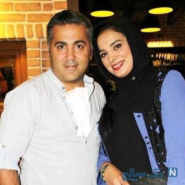 روشنک عجمیان بازیگر معروف و همسرش