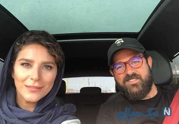 سلفی سحر دولتشاهی هومن سیدی
