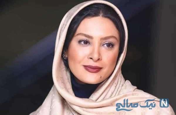 سلفی حدیثه تهرانی و سولماز حصاری در حرم مطهر امام رضا