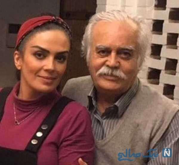 سارا خوئینی ها بازیگر ایرانی و پدر مرحومش
