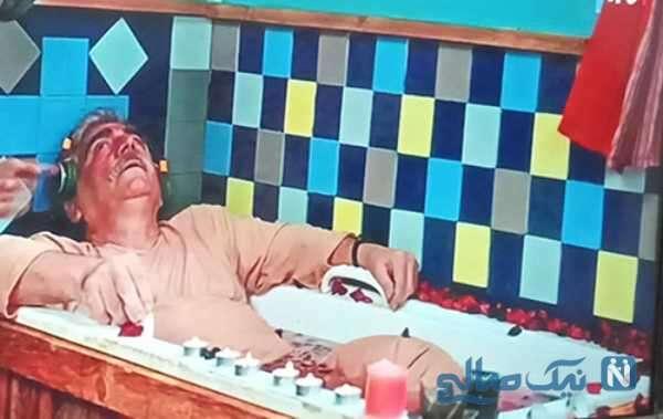 حمام کردن با لباس در سریال نون خ