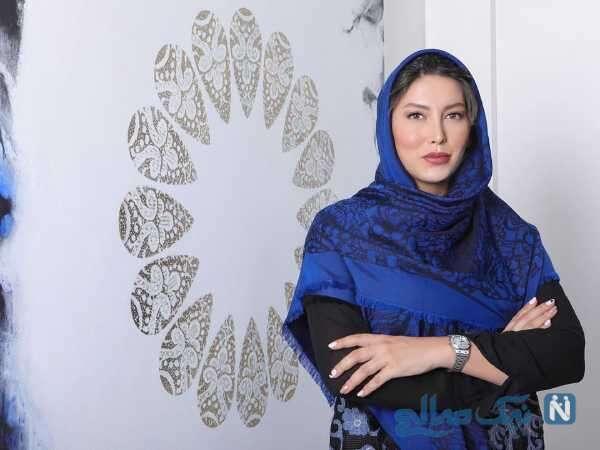 تصویری از چهره فریبا نادری