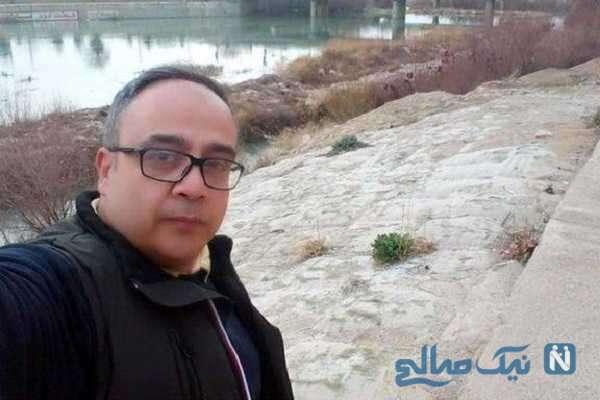 پست غم انگیز همسر علی ابوالحسنی برای اولین سالگرد فوت آقای بازیگر
