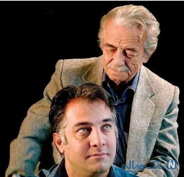 ایرج نوذری بازیگر معروف و پدرش