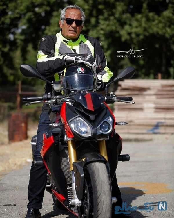 موتورسواری مجید مظفری