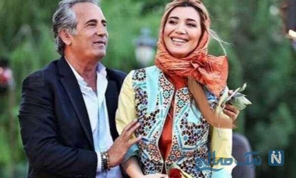 مجید مظفری بازیگر معروف و دخترش