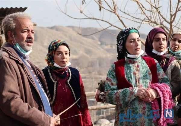 تصویری از بازیگران سریال نون خ