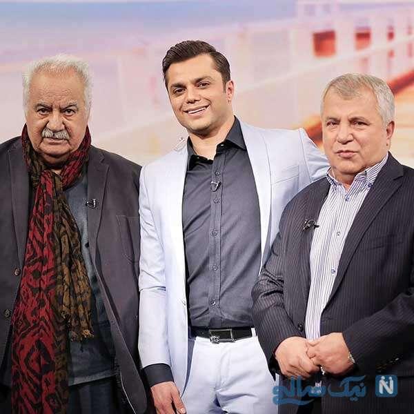 علی پروین پیشکسوت فوتبال