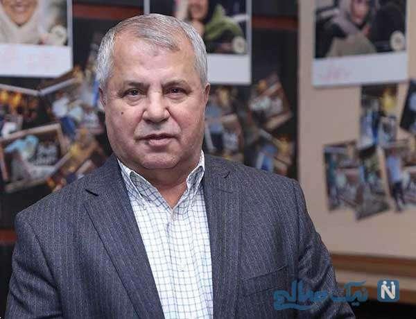 علی پروین به همراه آرش ظلیپور بر سر مزار زندهیاد علی انصاریان