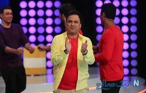 حامد آهنگی مجری شوتبال