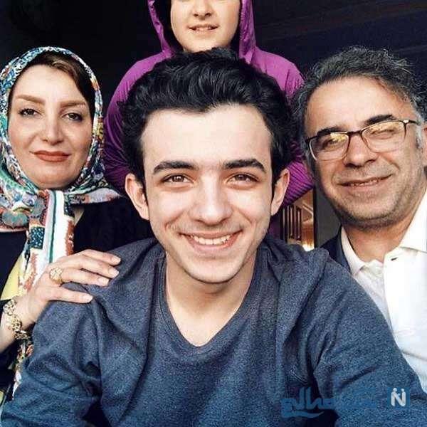 پدر و مادر علی شادمان