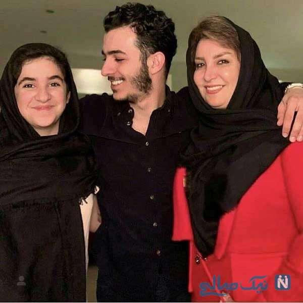 مادر و خواهر علی شادمان