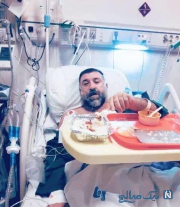 روزهای بستری انصاریان در بیمارستان