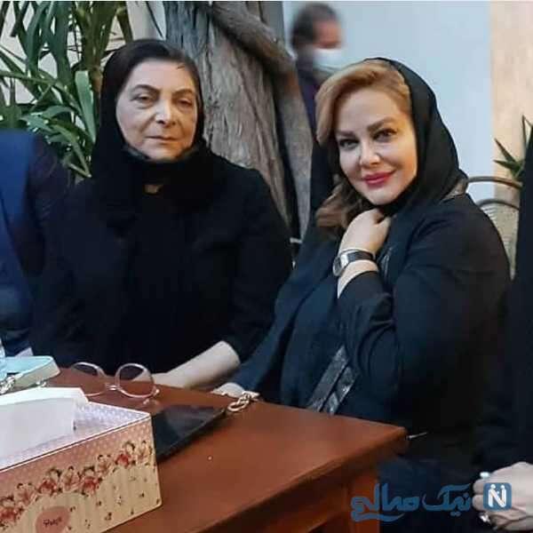 بهاره رهنما در منزل مرحوم محسن قاضی مرادی