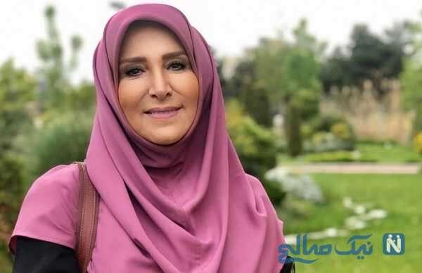جشن تولد ژیلا امیرشاهی مجری تلویزیون با کیک متفاوت در ۶۱ سالگی