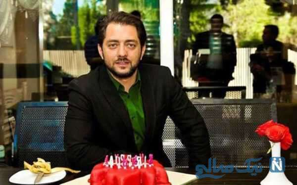 جشن تولد بهرام رادان