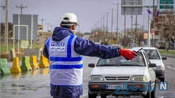 جریمه خودرو ها در شرایط کرونایی