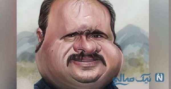 تصویری از کاریکاتور سلمان نون خ