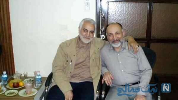 سردار سلیمانی و سید محمد حجازی