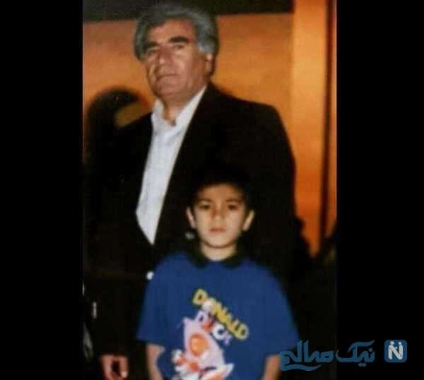 تصویری از دوران کودکی نوید محمدزاده