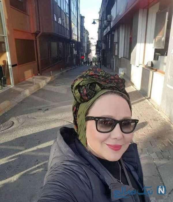 خانم بازیگر در خارج