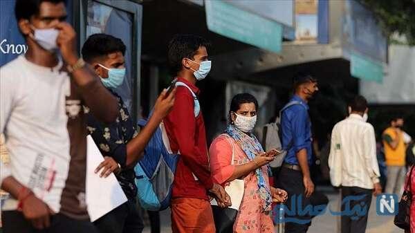 وضعیت کرونا در هند